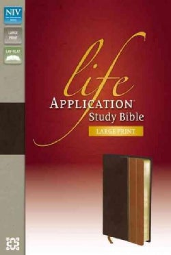 Life Application Study Bible: New International Version, Chocolate / Tan, Italian Duo-Tone (Paperback)