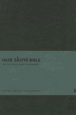Holy Bible: New American Standard Bible, Black, Italian Duo-Tone, Thinline, Skinii (Paperback)