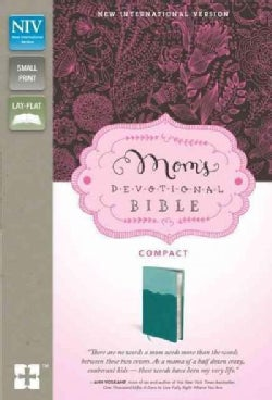 Mom's Devotional Bible: New International Version Italian Duo-Tone, Turquoise/Teal Mom's Devotional Bible Compact... (Paperback)