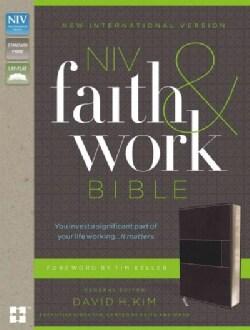 NIV Faith and Work Bible: New International Version, Charcoal Italian Duo-Tone (Paperback)