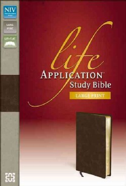 Life Application Study Bible: New International Version, Distressed Brown Bonded Leather (Paperback)