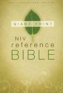 Holy Bible: New International Version Giant Print Reference Bible (Hardcover)
