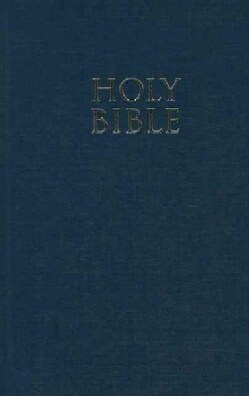Holy Bible: New International Version, Navy, Church Bible (Hardcover)