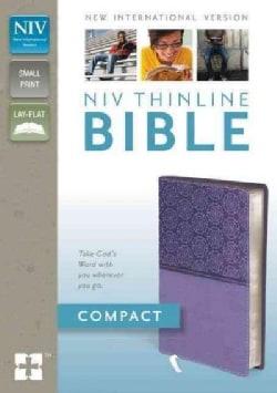 Holy Bible: New International Version Lavender Italian Duo-Tone Thinline (Paperback)