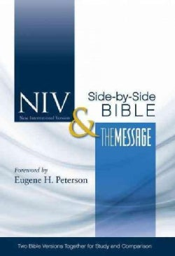 NIV & The Message Side-By-Side Bible: New International Version & The Message (Hardcover)