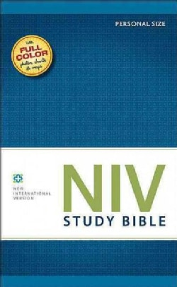 The NIV Study Bible: New International Version, Personal Size (Hardcover)