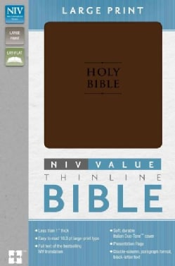 Holy Bible: New International Version, Chocolate, Italian Duo-Tone, Premium Value Thinline (Paperback)