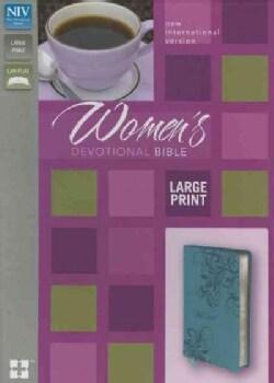 Holy Bible: New International Version, Turquoise, Italian Duo-Tone Women's Devotional Bible (Paperback)