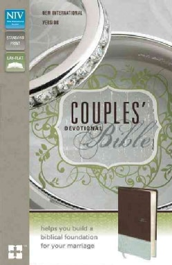 Couples' Devotional Bible: New International Version, Chocolate/Silver, Italian Duo-Tone (Paperback)