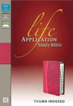Life Application Study Bible: New International Version Honeysuckle Pink Italian Duo-Tone (Paperback)
