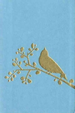 Holy Bible: New International Version, Turquoise / Gold Bird, Italian Duo-Tone, Flora & Fauna Collection (Paperback)