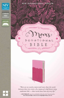 Mom's Devotional Bible: New International Version, Pink / Hot Pink, Italian Duo-Tone (Paperback)