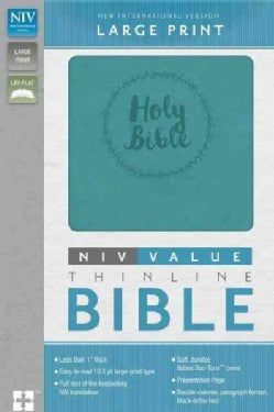 Holy Bible: New International Version, Turquoise Italian Duo-Tone, Value Thinline (Paperback)
