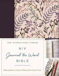 NIV Journal the Word Bible: New International Version, Pink Floral Cloth (Hardcover)