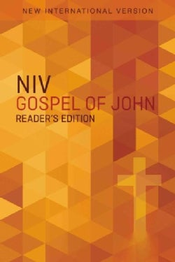 Gospel of John: New International Version, Orange Cross, Reader's Edition (Paperback)