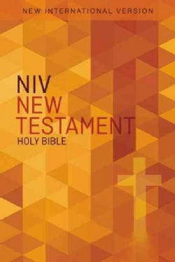 Outreach New Testament: New International Version, Orange Cross (Paperback)