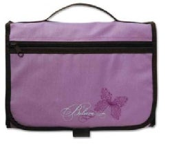 Designer Tri-fold Cover Lavender/ Chocolate Large Book & Bible Cover (General merchandise)