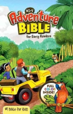 NIrV Adventure Bible for Young Readers: New International Reader's Version (Hardcover)