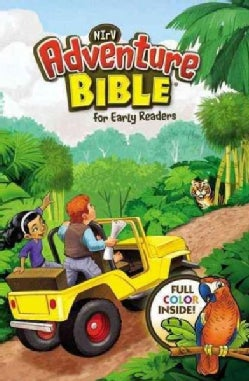 NIrV Adventure Bible for Early Readers: New International Reader's Version, 3-D Cover (Hardcover)