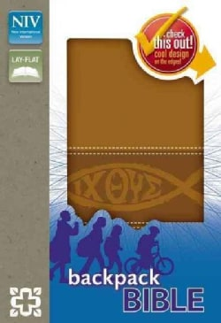 Holy Bible: New International Version, Toffee Italian Duo-Tone Backpack Bible (Paperback)