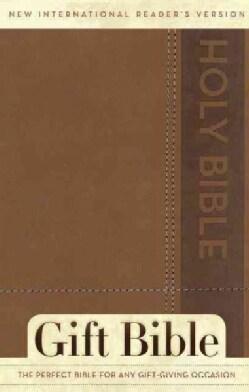 Holy Bible: New International Reader's Version Brown Italian Duo-Tone Gift Bible (Paperback)