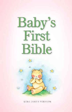 Baby's First Bible: King James Version, Pink (Hardcover)