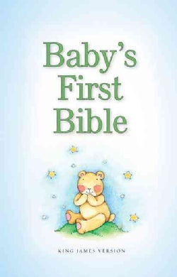 Baby's First Bible: King James Version, Blue (Hardcover)