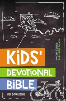 Kids' Devotional Bible: New International Reader's Version (Hardcover)