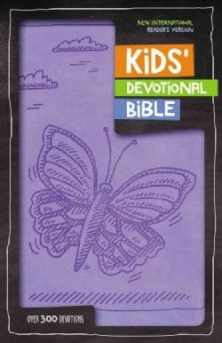 Kids' Devotional Bible: New International Reader's Version, Lavender, Italian Duo-Tone (Paperback)