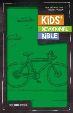 Kids' Devotional Bible: New International Reader's Version, Green, Italian Duo-Tone (Paperback)