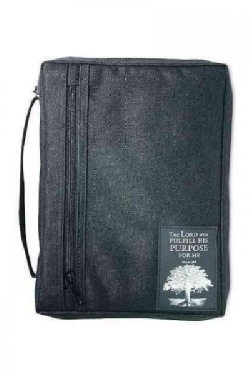 The Purpose Driven Life With Patch Book and Bible Cover: Black, Extra Large (General merchandise)