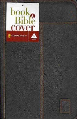 Aviator Leather-look Brown Large Book & Bible Cover (General merchandise)
