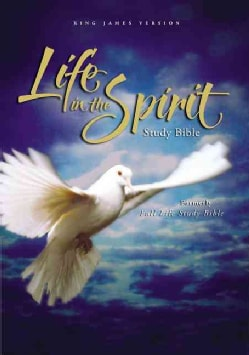 Life in the Spirit Study Bible: King James Version, Black Bonded Leather (Paperback)