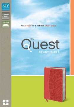 Quest Study Bible: New International Version, Coral, Italian Duo-Tone, The Question & Answer Study Bible (Paperback)