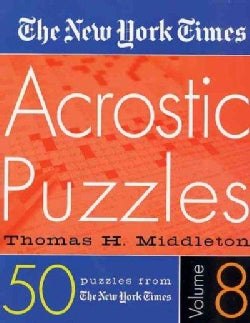 The New York Times Acrostic Puzzles (Paperback)