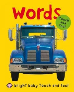Words: Touch and Feel (Board book)