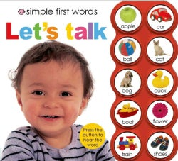 Simple First Words Let's Talk (Board book)