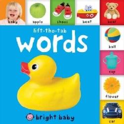 Bright Baby Tab: Words (Board book)