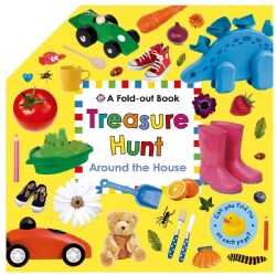 Treasure Hunt: Around the House (Board book)