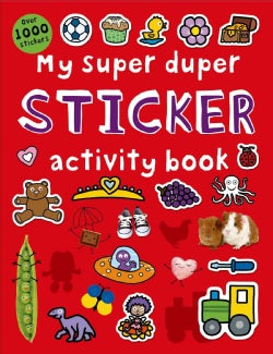 My Super Duper Sticker Activity Book (Paperback)