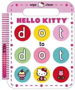 Hello Kitty Wipe Clean Dot to Dot