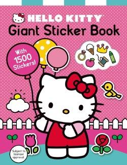 Hello Kitty Giant Sticker Book (Paperback)