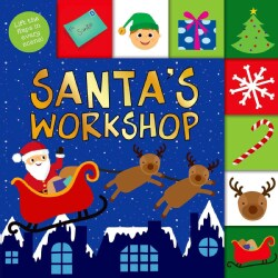 Santa's Workshop (Board book)