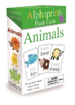 Alphaprints Flash Cards Animals