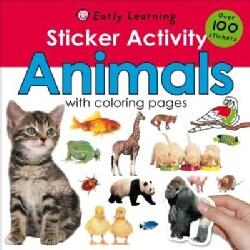 Sticker Activity Animals (Paperback)
