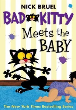 Bad Kitty Meets The Baby (Paperback)