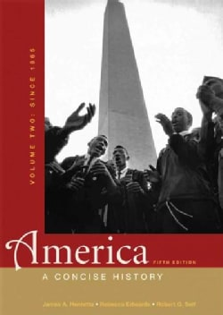 America: A Concise History, Since 1865 (Paperback)
