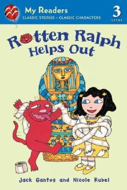 Rotten Ralph Helps Out (Paperback)