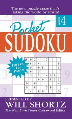 Pocket Sudoku: 150 Fast, Fun Puzzles (Paperback)