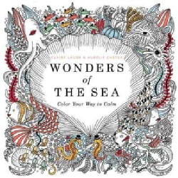 Wonders of the Sea: Color Your Way to Calm (Paperback)
